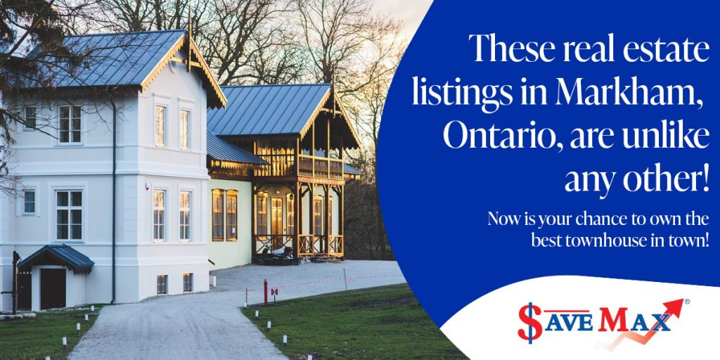 Get Chance to Own the Best Townhouse in Markham